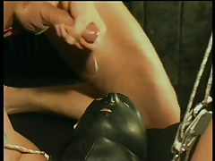 Gay leather and slaving fuck fest in 6 video