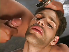 Horny guys gangbanging stud in nasty group fucking in 7 episode