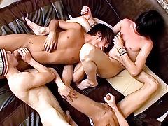 Foot Loving Fourgy Boys - Asher, Ryan, Brenden, Krist