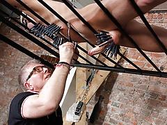 Draining A Slave Fellows Schlong - Reece Bentley And Sebastian Kane