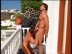 Hawt gay guys end up covered in spunk in 2 movie