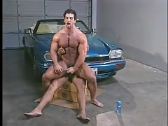 Man-lover muscle chaps have hot anal in garage in 6 episode