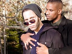 Champs Kissing Guys, Scene #02