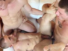 Tanner, Brendon & Tyler BAREBACK in Greenville