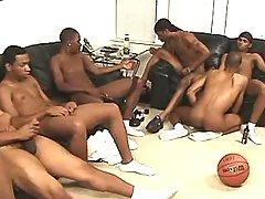 Black gay slummed by handsome stud
