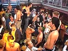 Numerous gays have fun on party