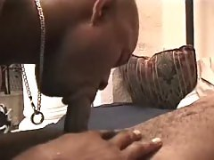 Handsome black stud takes it anally