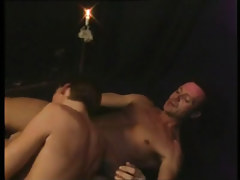 Gay boy serves lusty daddy