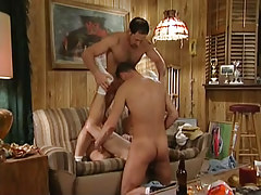 Dad and boy share horny gay